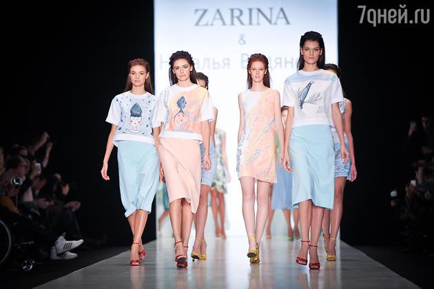 Показ ZARINA в рамках MBFW Russia 2014
