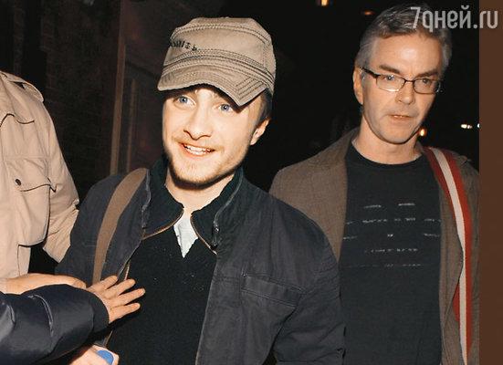 Дэниел Рэдклифф и его отец Алан