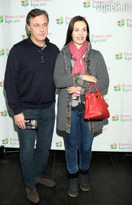 Екатерина Андреева с супругом