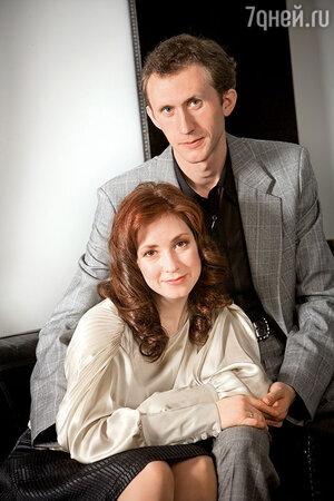 Анна Большова с мужем