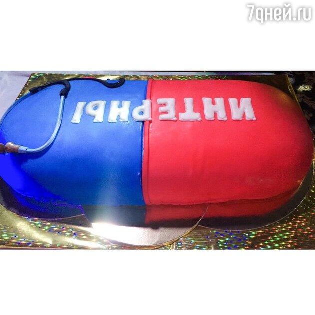 «Прощальный» торт