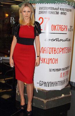 Мария Миронова на дне рождения Благотворительного фонда поддержки деятелей искусства «Артист». 2011 год