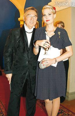 Вячеслав Зайцев и Рената Литвинова