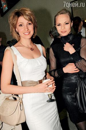 Светлана Бельская и Анастасия Макеева