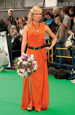 На церемонии вручения премии «МУЗ-ТВ». 2010 г.