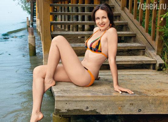 На Анне купальник Gottex