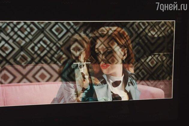 Кадр из нового клипа Натальи Подольской и Владимира Преснякова