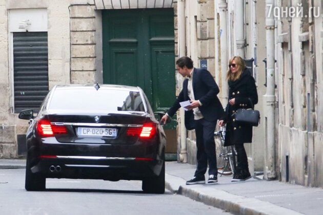 Хайди Клум и Вито Шнабель в Париже