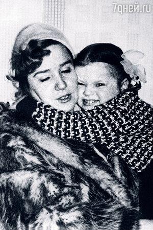 Руфина Нифонтова с дочерью Олей