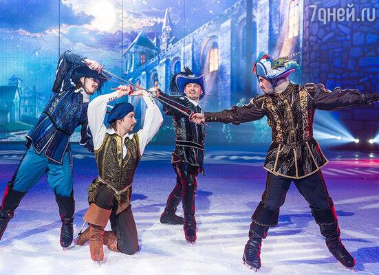 Шоу «Три мушкетера»