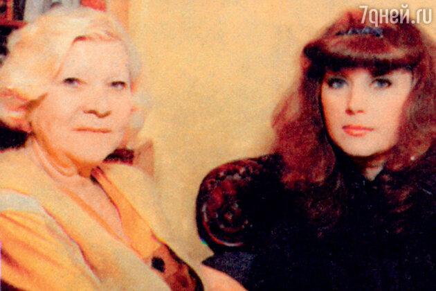 Клавдия Шульженко и Алла Пугачева. 1982 год