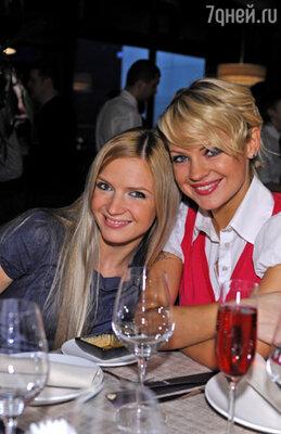 Юлия Михальчик и Ирина Ортман