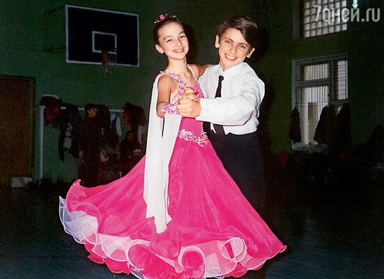 С Митей — партнером по танцам