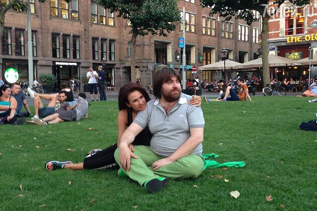 Эвелина Блёданс и Александр Семин в Голландии
