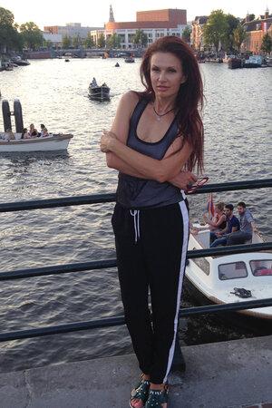 Эвелина Блёданс в Голландии