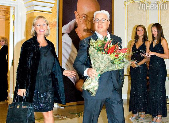Владимир Винокур с супругой Тамарой