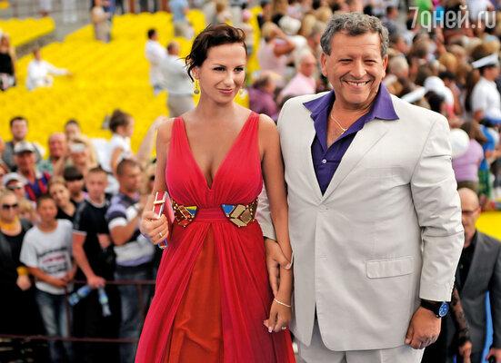 В Сочи на церемонии закрытия «Кинотавра», 2011 г.
