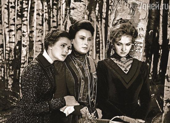 Люба могла быть разной: и дворянкой Машей, которую играла в картине «Три сестры» (на фото) и которую напоминала на светских приемах, и простой русской бабой, особенно когда страдала...