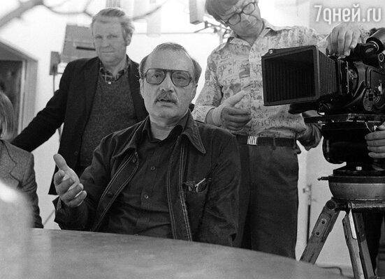 Свою новую любовь, режиссера Георгия Данелию, Люба Соколова встретила уже в зрелом возрасте, 1978 г.