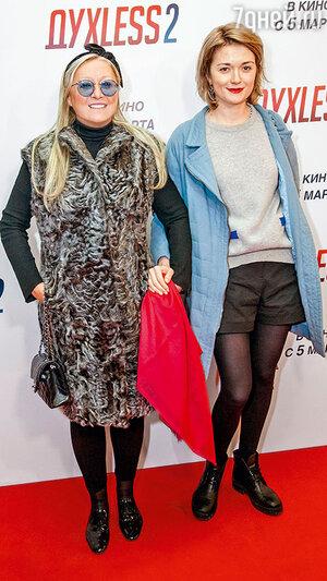 Надежда Михалкова с матерью Татьяной Михалковой