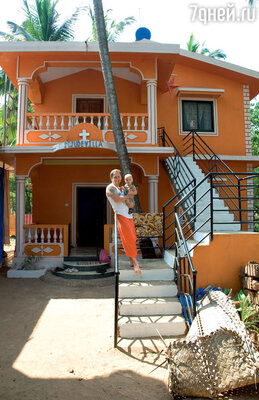 Оскар Кучера проникся симпатией к Индии до такой степени, что построил на Гоа наберегу океана собственный дом