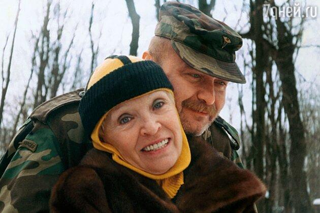 Светлана Светличная с сыном Алексеем Ивашовым