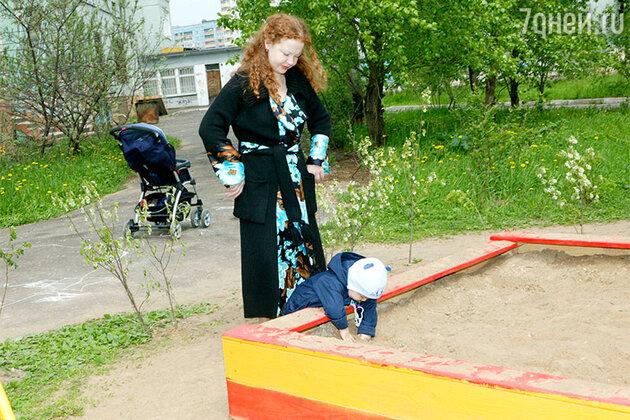 Татьяна Абрамова с сыном