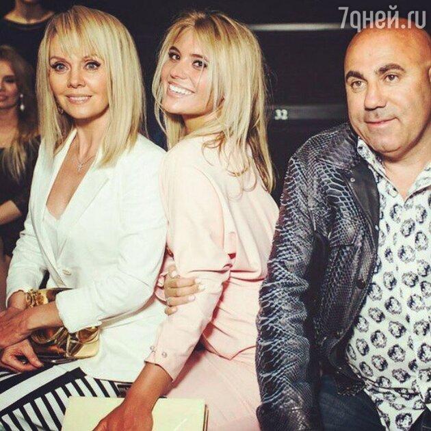 Валерия, Анна Шульгина и Иосиф Пригожин
