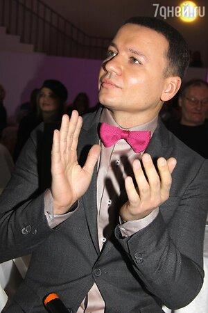 Александр Олешко на презентации альбома «Новые песни для мальчиков и девочек, пап и мам»