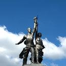 Монумент Веры Мухиной «Рабочий и колхозница» стал главной сенсацией Всемирной Парижской выставки 1937 года