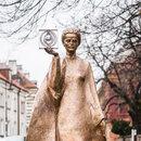 Памятник Марии Склодовской-Кюри в Варшаве