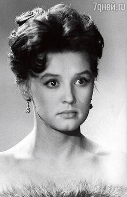Первая актерская проба во время учебы в Школе-студии МХАТ. 1963 г.