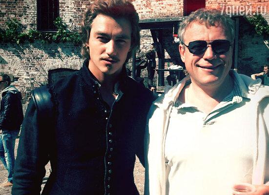Алексей Воробьев на съемках нового мини-сериала «Три Мушкетера»