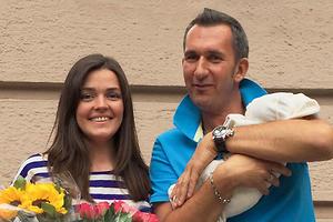 У Михаила Владимирова родилась дочка