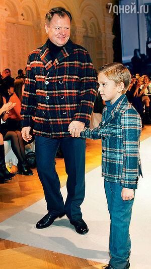 Игорь Бутман с сыном Марком
