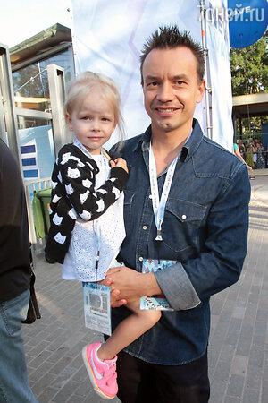 Алексей Серов c дочерью Полиной