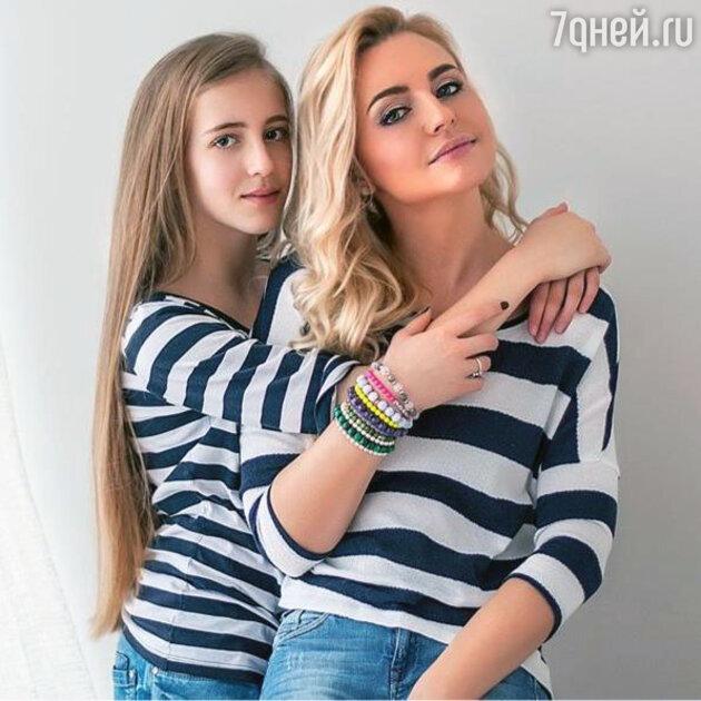 Ирина Качко c дочерью Бэтти