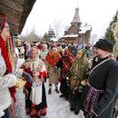 Обряд колядования в  Великом Новгороде