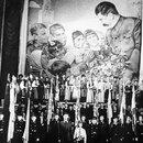 Новогодняя елка в Колонном зале Дома Союзов. 1941 год