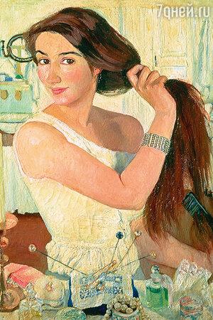 Зинаида Серебрякова. «За туалетом», 1909 год