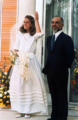 Свадьба короля Хусейна с Нур
