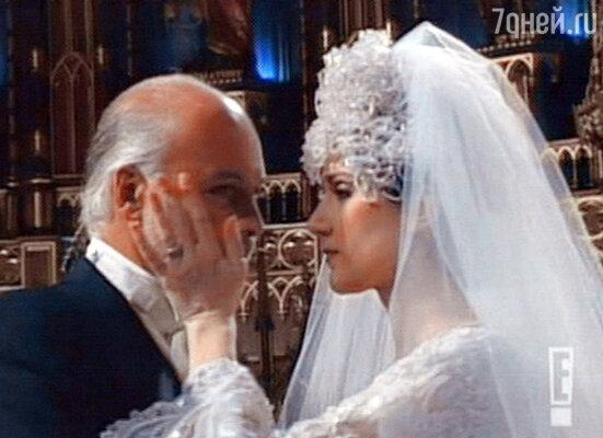 Долгожданная свадьба Селин с Рене Анжелилом. Монреаль, декабрь 1994 г