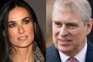 Скандал: принц Эндрю встречается с Деми Мур!