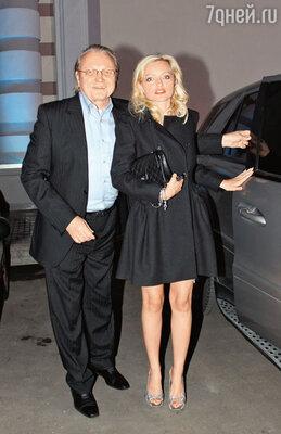 Инна Маликова с отцом Юрием Федоровичем Маликовым