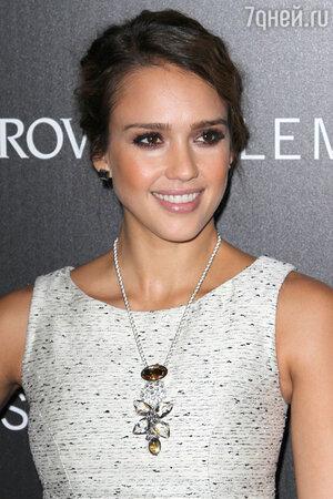 Джессика Альба на светском приеме,  2012 год