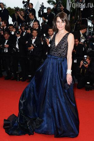 Милла Йовович на Каннском кинофестивале. 2013 год