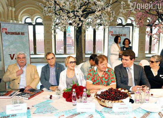 Пресс-конференция, посвященная открытию X фестиваля искусств «Черешневый лес»