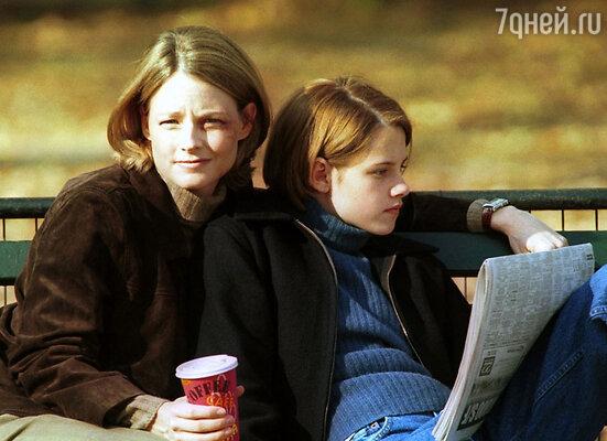 На кандидатуре Кристен в картине «Комната страха» настояла Джоди Фостер. Они были очень похожи. Кадр из фильма