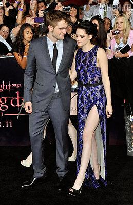 Их романтические отношения были на руку продюсерам. Роберт и Кристен