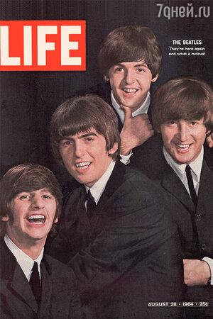 The Beatles на обложке Life 1964 год